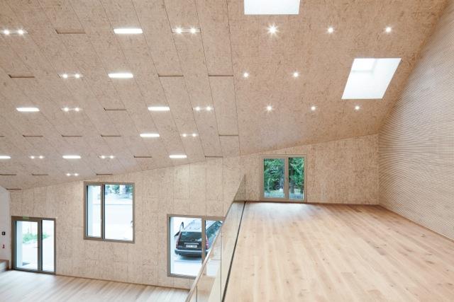 Blick von Empore Kirchensaal, Foto: Thomas Weinberge