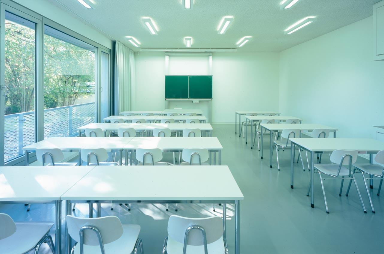 Klassenzimmer Anbau, Foto: Florian Holzherr